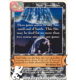Wo: New Jerusalem