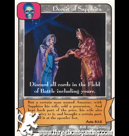 Wo: Deceit of Sapphira