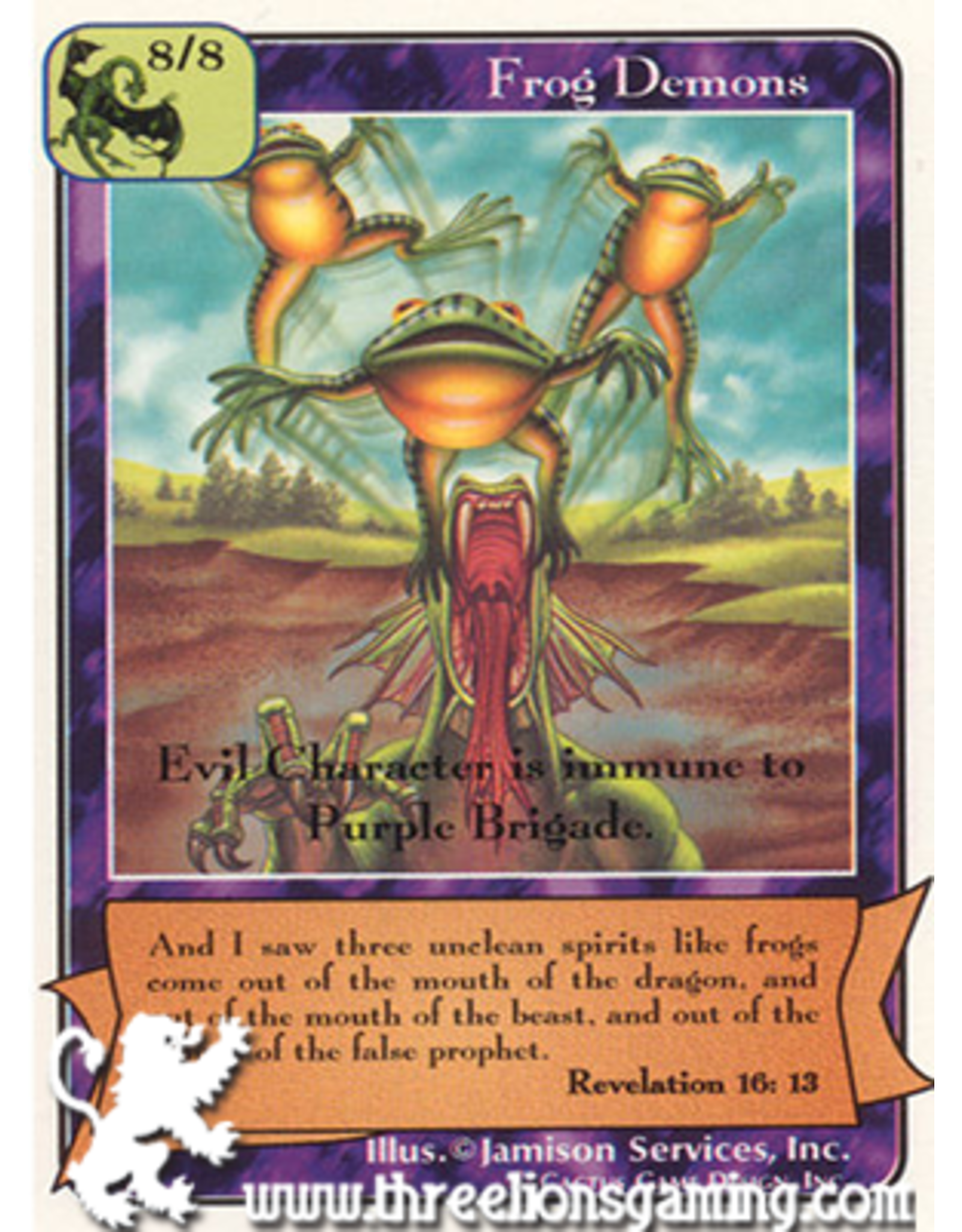 Wa: Frog Demons