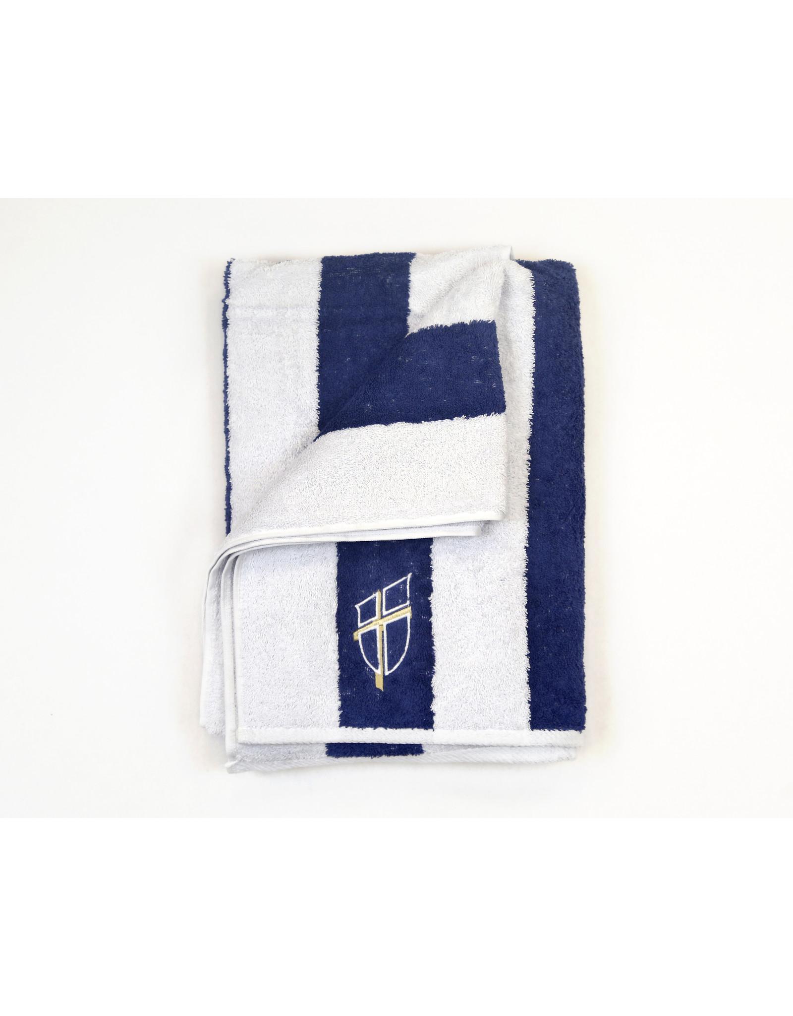Knight Shield Beach Towel