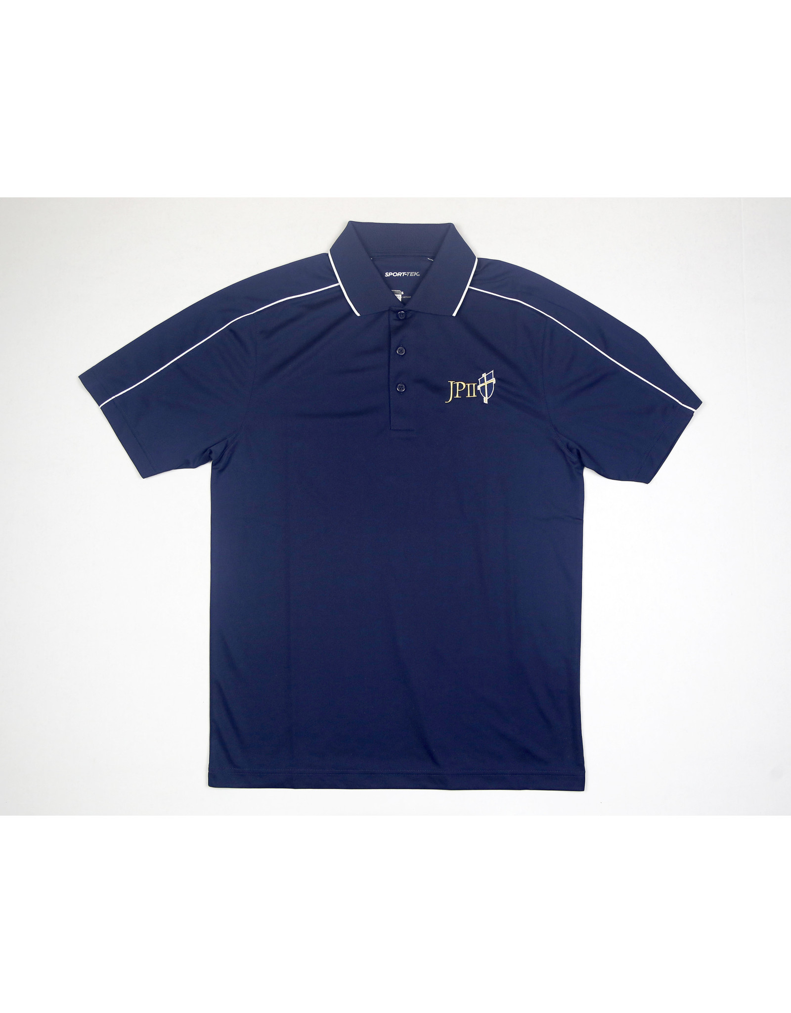 Sport-Tek Navy Golf Polo
