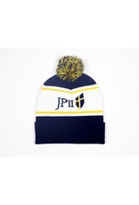 Blue and Gold Bam Bam Beanie Hat