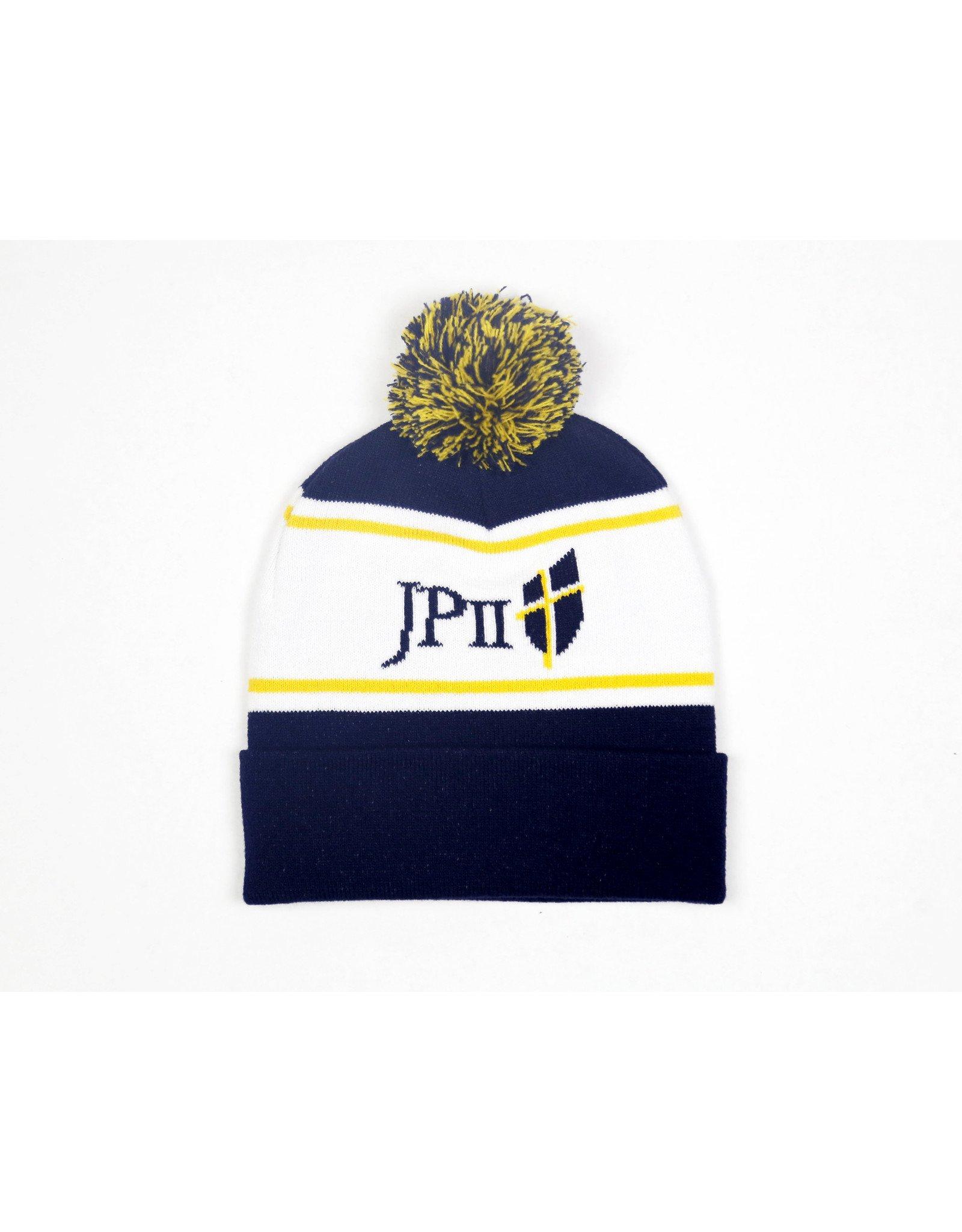 Blue and Gold Bam Bam Beanie Hat