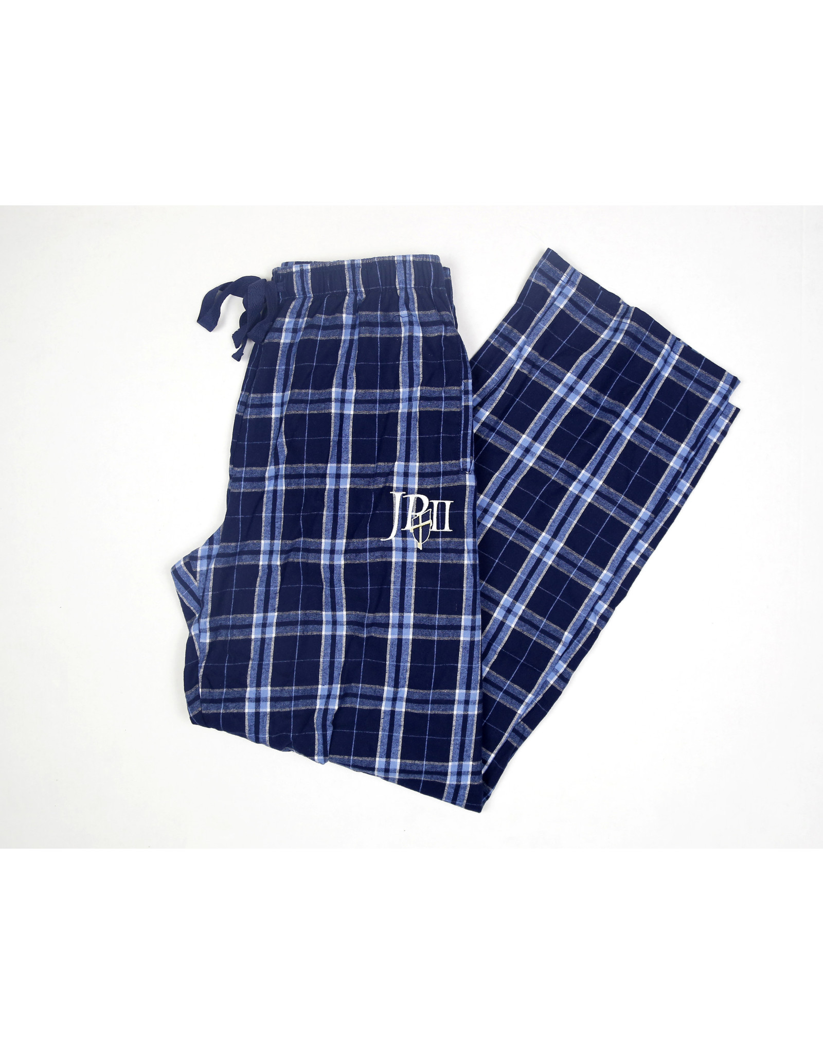 Boxercraft Pajama Bottoms Navy Plaid / JPII Shield