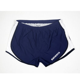 Sport-Tek Ladies Navy Shorts Black Trim