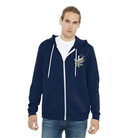 BELLA + CANVAS Unisex Full Zip Hooded Jacket
