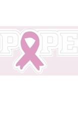 POPE Pink Ribbon Lapel Pin