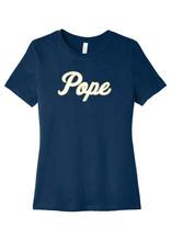 Bella+Canvas Cursive POPE Ladies Short-Sleeve Tee