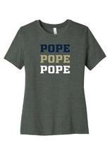 Bella+Canvas Triple POPE Ladies Short Sleeve Tee