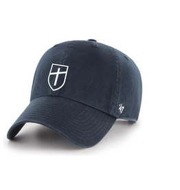 '47 Brand Navy Clean Up Cap with Shield and POPE PREP