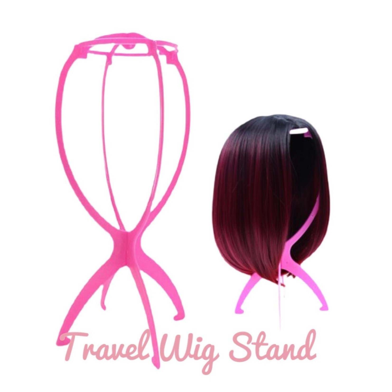 Pink Travel Stand