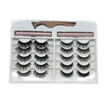 711 - 10 VARIOUS SIZE MAGNETIC LASHES, 2 LINER AND 1 APPLICATOR