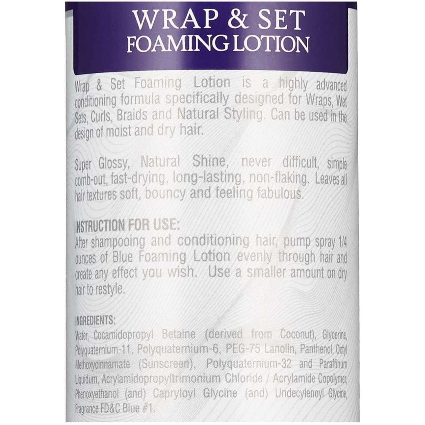 Wrap & Set Foaming Lotion