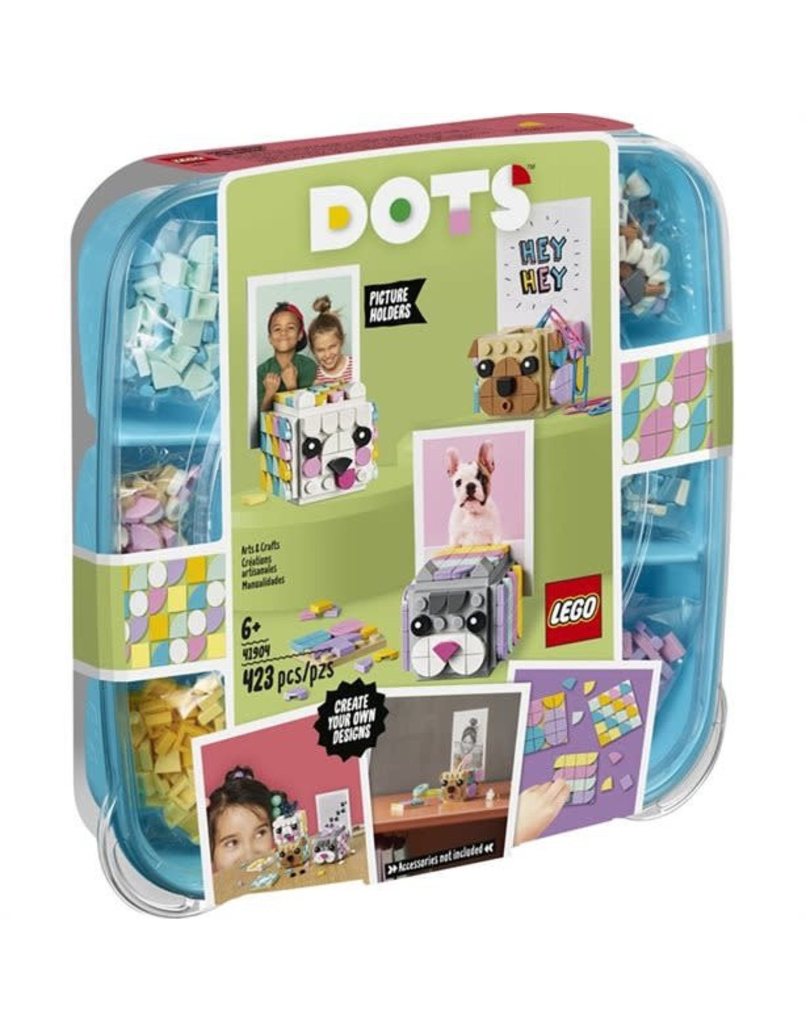 Lego DOTS   Animal Picture Holders   Toy Box