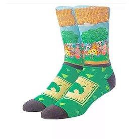 Animal Crossing Crew Socks