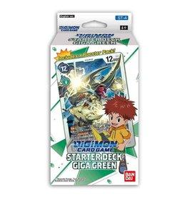 Digimon Starter Deck Gaia Green