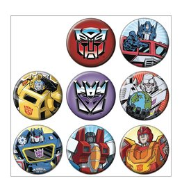 Transformers Buttons
