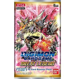 Digimon Great Legend Booster Pack