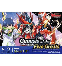 Vanguard Genesis/ Five Greats Booster Box