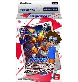 Digimon Starter Deck Gaia Red
