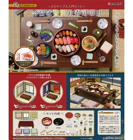 Re-Ment Gorgeous Sushi Set (miniature set)