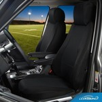 COVERKING Black Spacer Mesh 19-20 Chevrolet Silverado 1500 Full truck Seat Covers