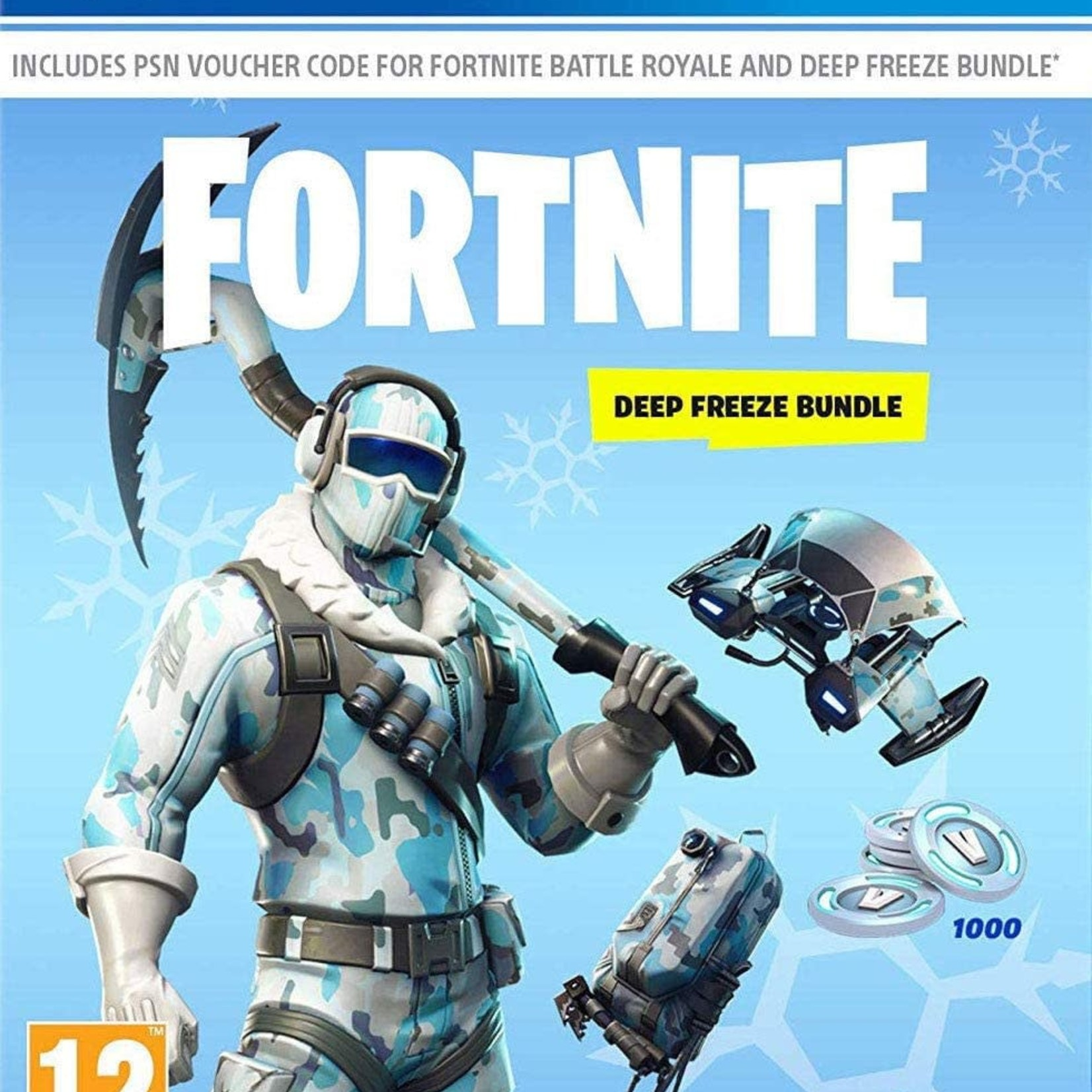 PS4 Fortnite Deep Freeze bundle (download code)