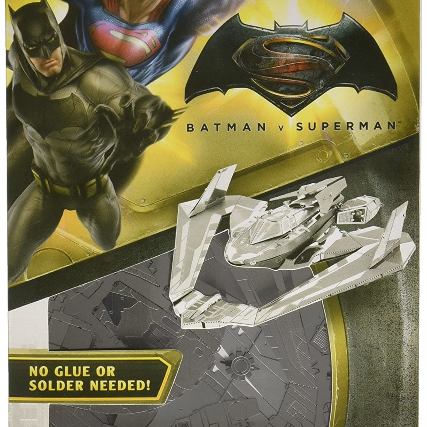 Metal Earth: Batman & Superman Batwing