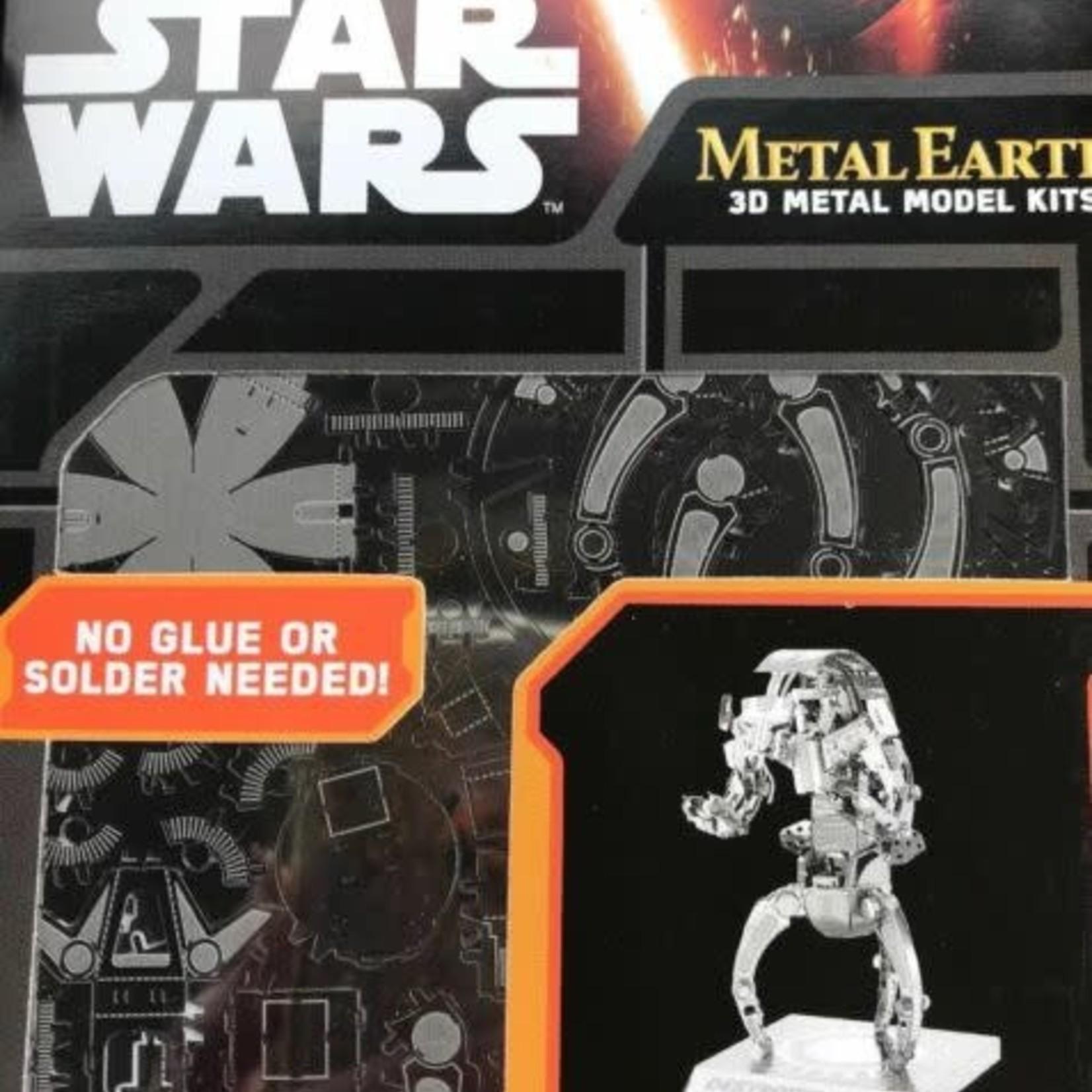 Metal Earth: Star Wars Destroyer Droid (2)