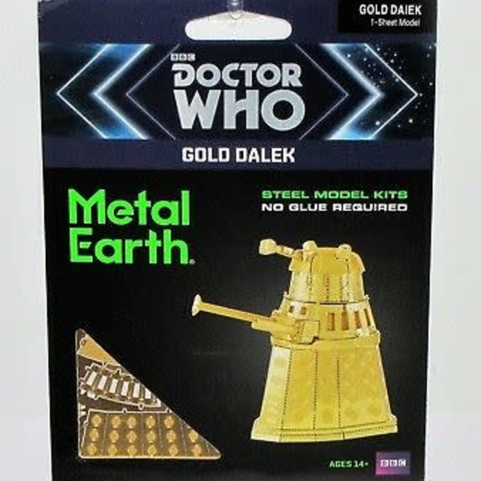 Metal Earth: Doctor Who Gold Dalek