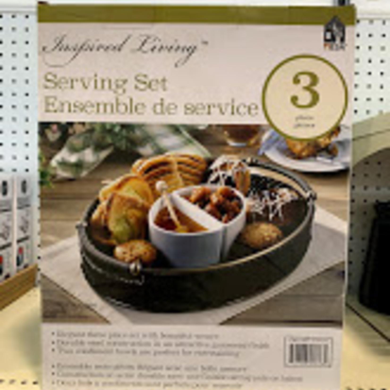 Inspired Living Serving Set 3 pc