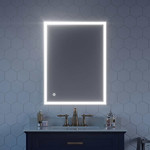 OVE Andromelia 24 in. x 32 in. LED Mirror