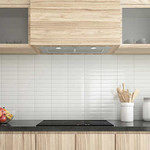 ANCONA 650 CFM Inserta III Built-in Range Hood in Stainless Steel with Night Light Feature AN1334