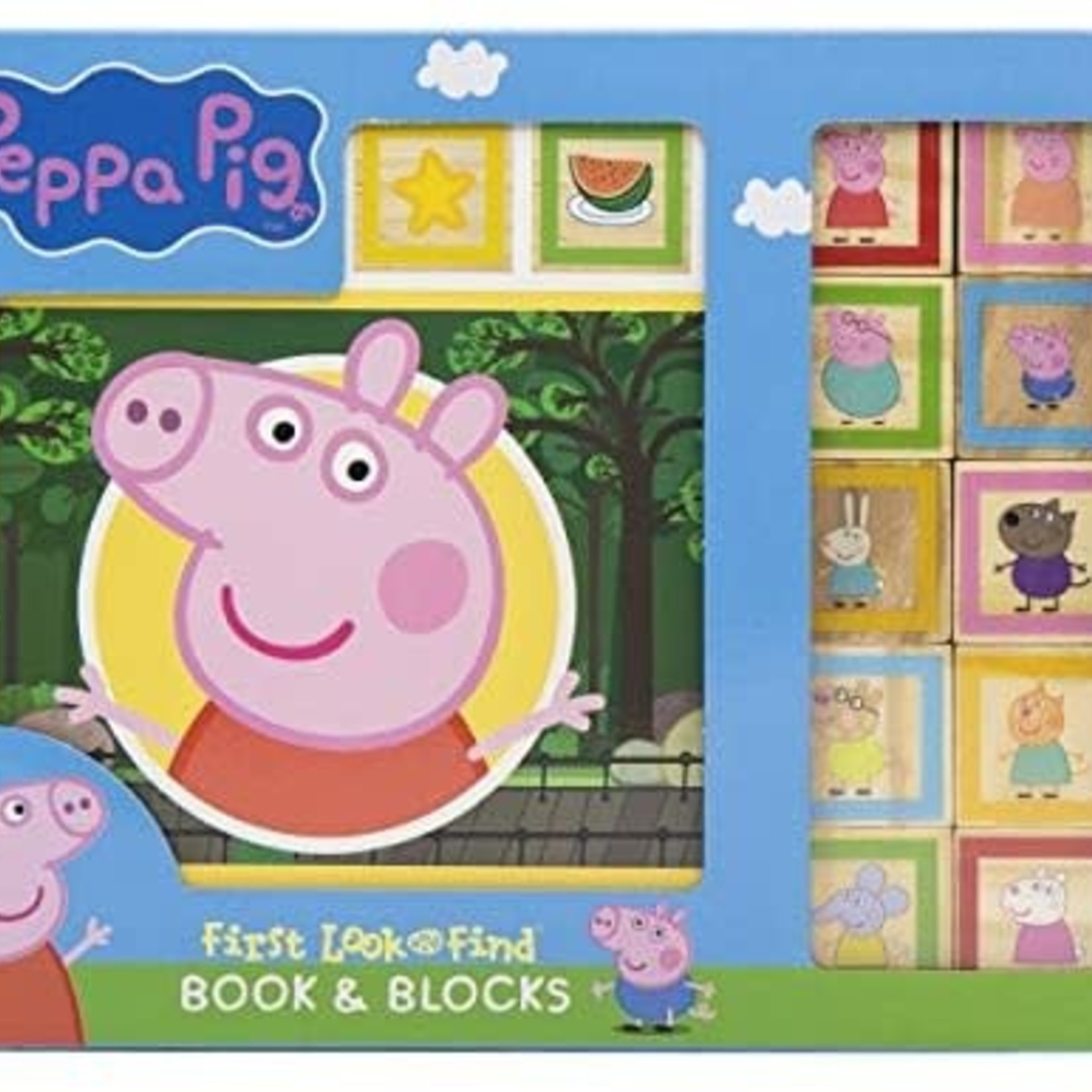 Peppa Pig Book & Blocks