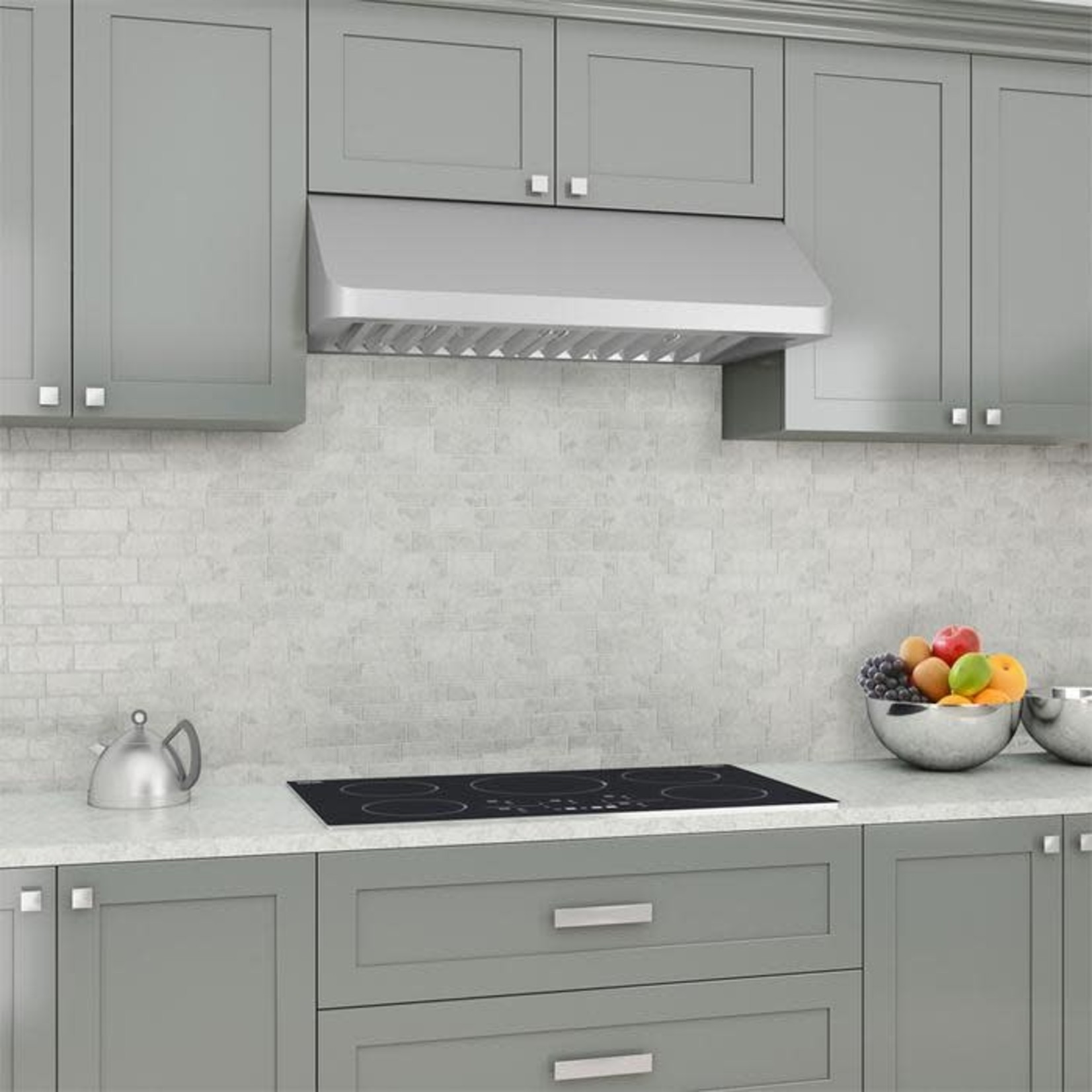 """Ancona AN-1285 Under Cabinet Range Hood Stainless Steel 36"""""""