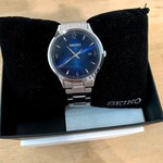Seiko Men's Watch Blue Face