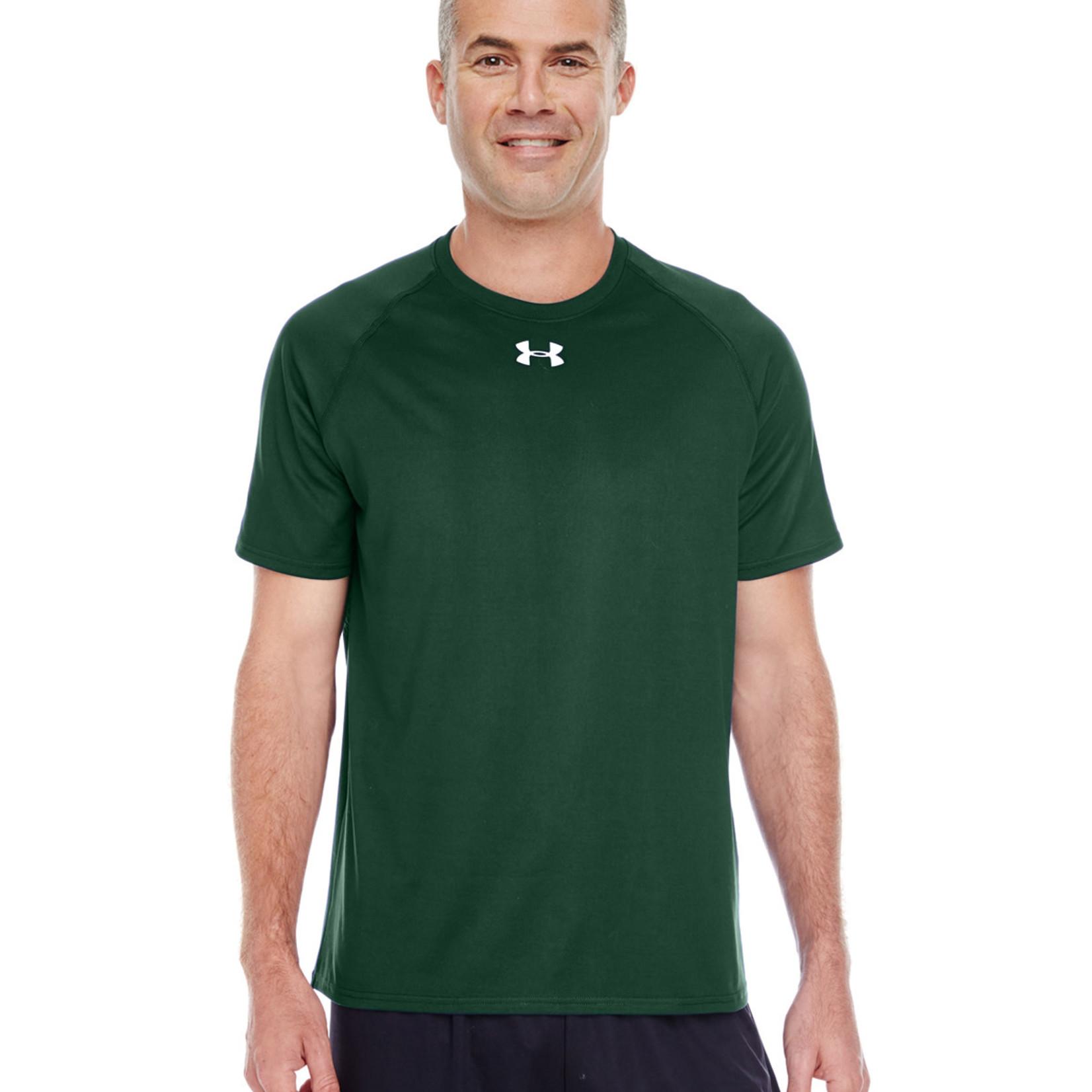 UA1268471 Men's Green Tee SMALL