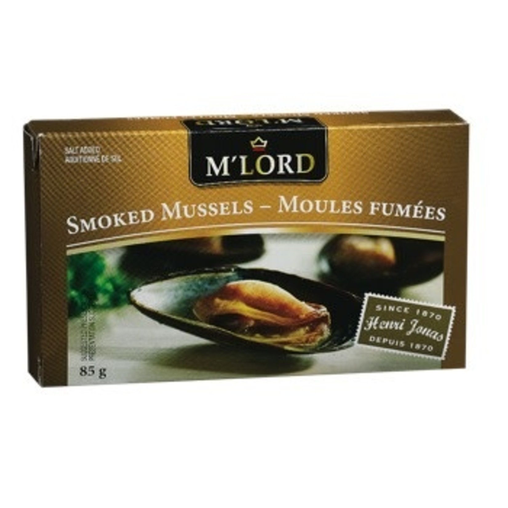 M'Lord Smoked Mussels 85g