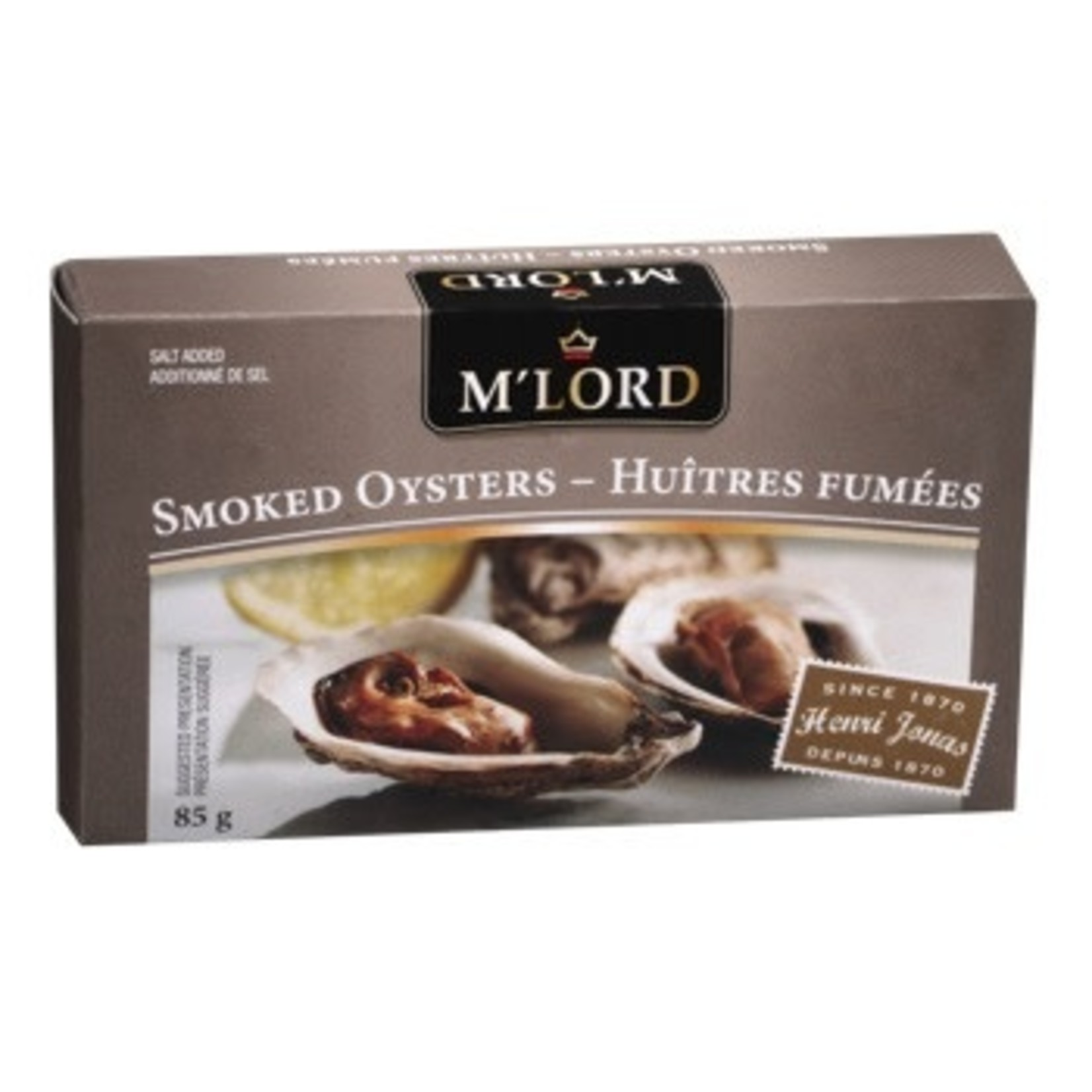 M'Lord Smoked Oysters 85g