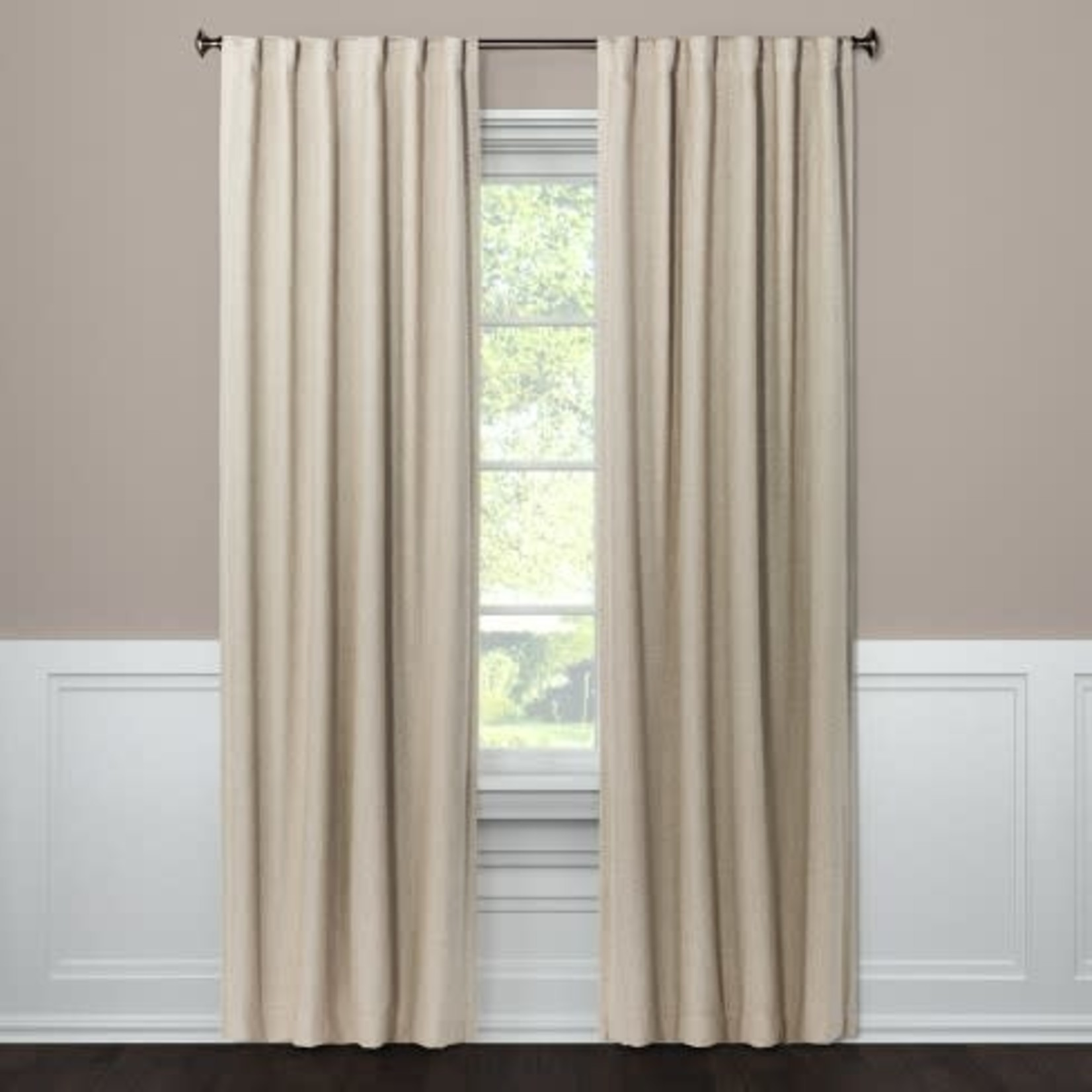 "Threshold Aruba Blackout Curtain Panels - 50""x95"""