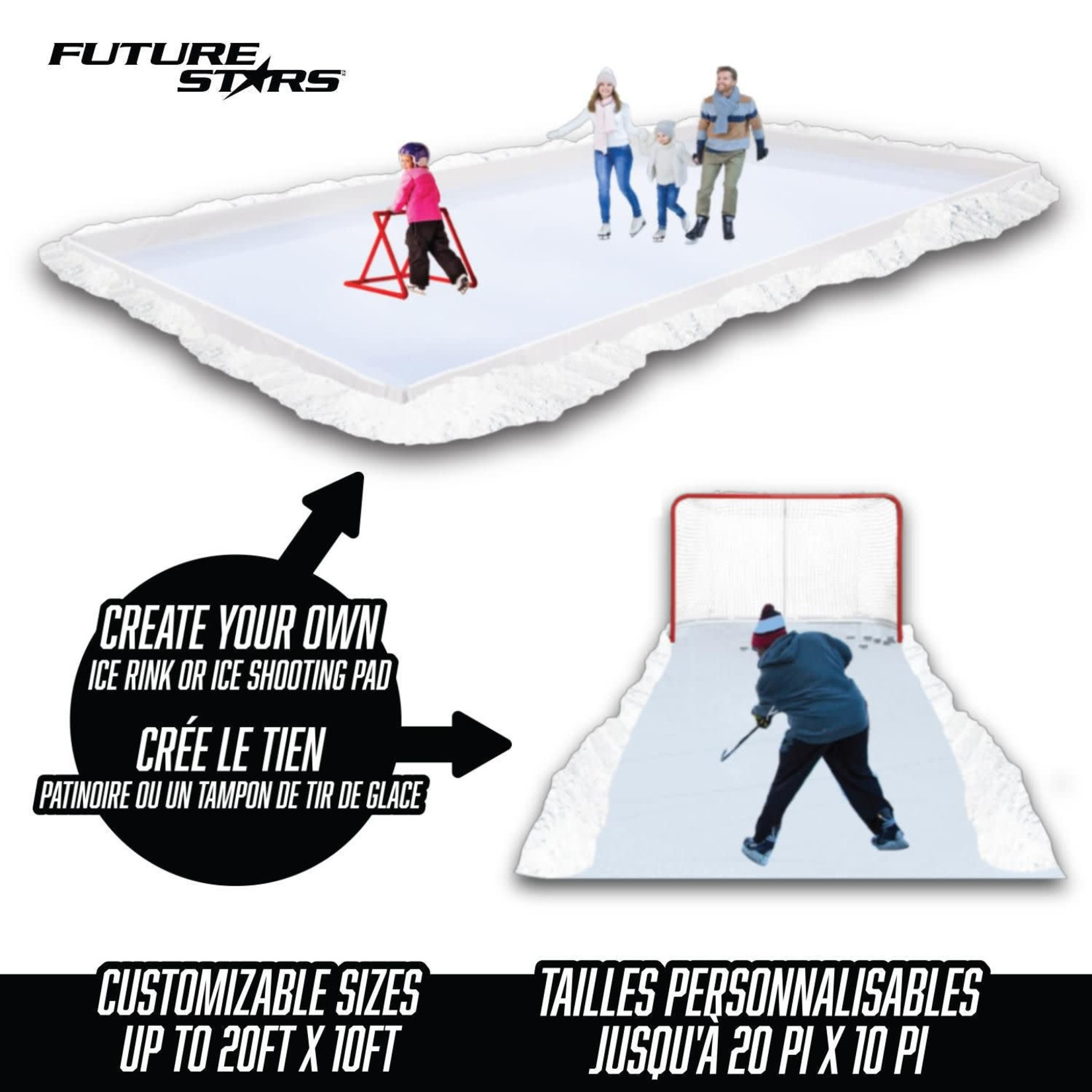 RINK IN A BOX - UP TO 20' X 10'