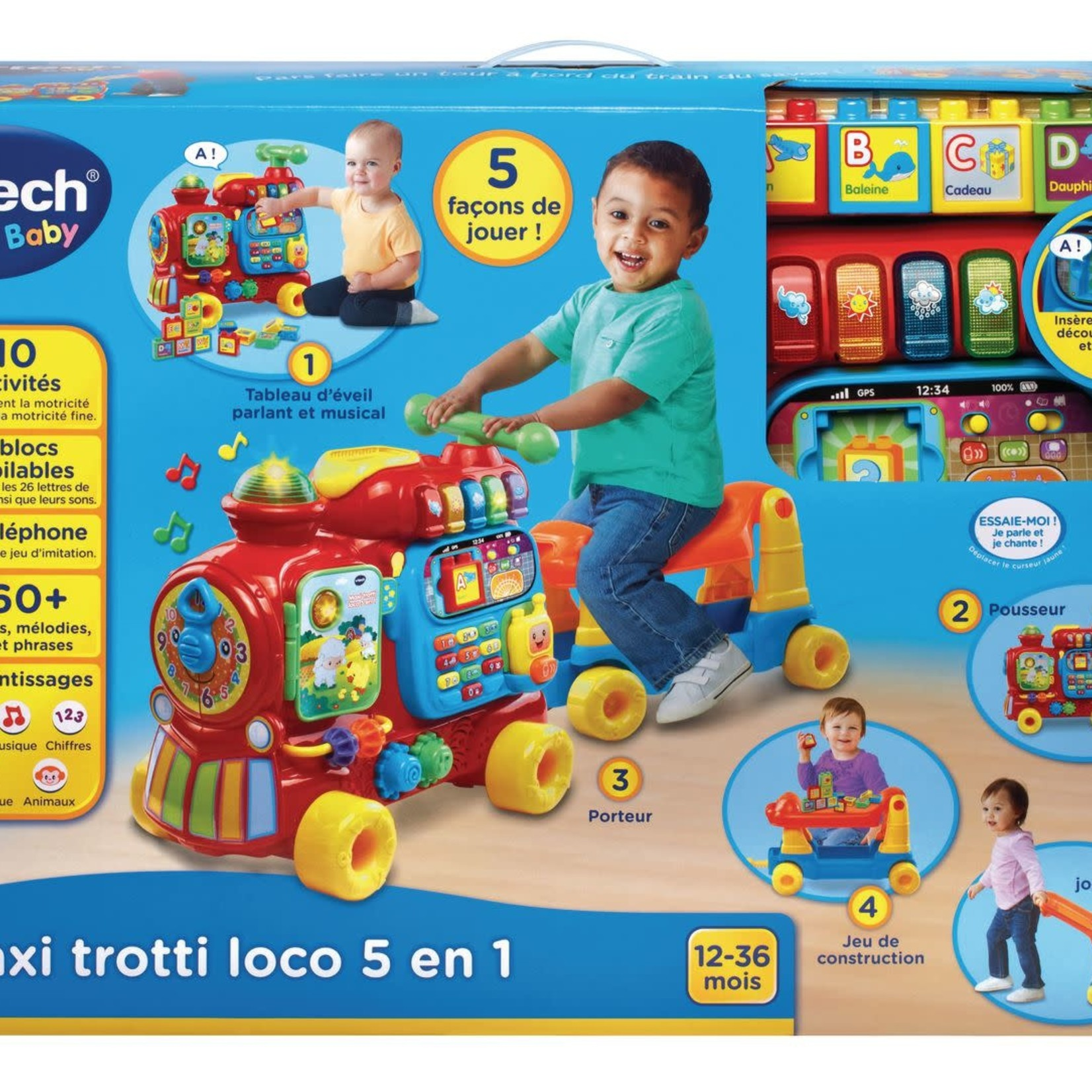 Vtech Ultimate Alphabet Train Sit to Stand