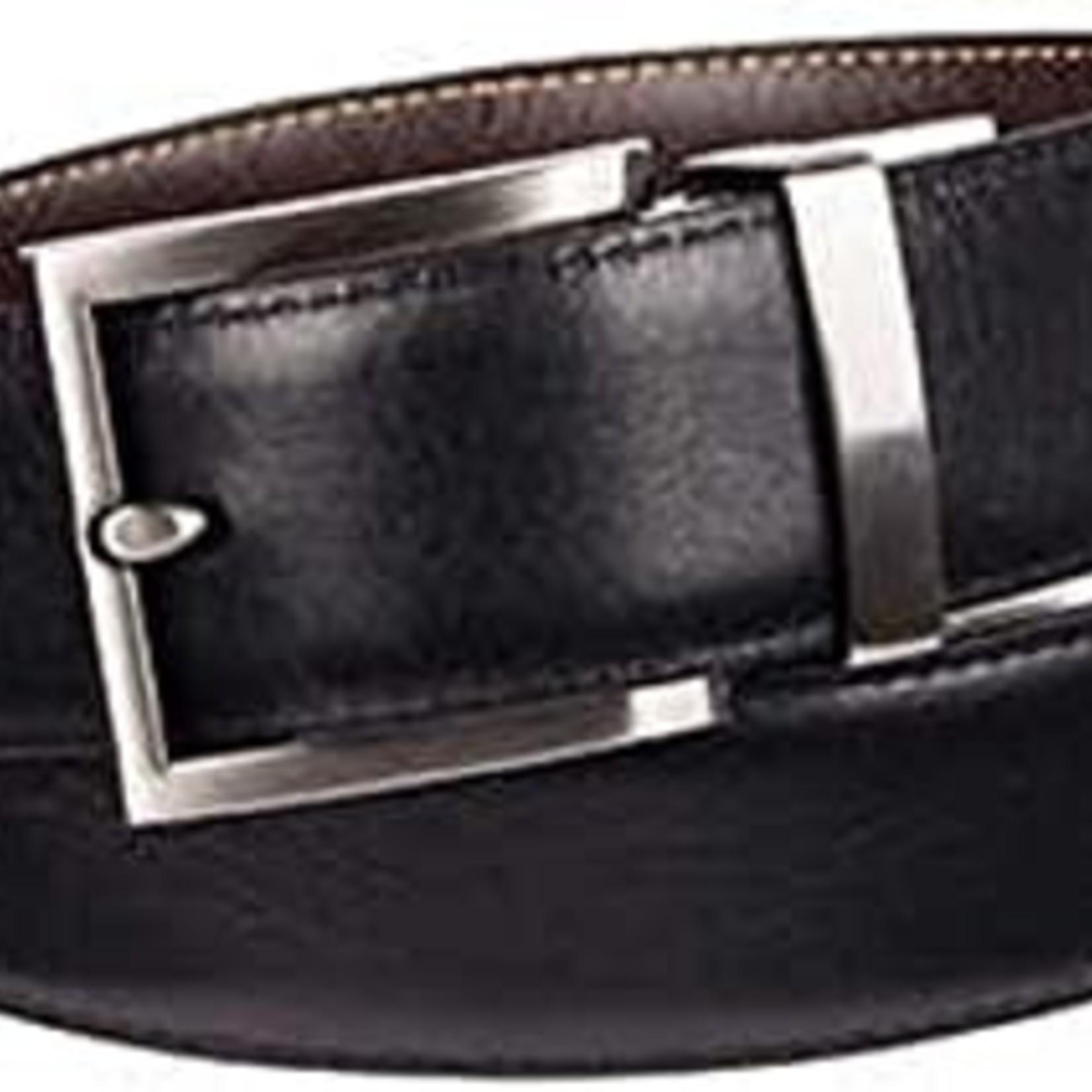 Kirkland Signature Reversible Men's Italian Leather Belt  (Black/Brown)
