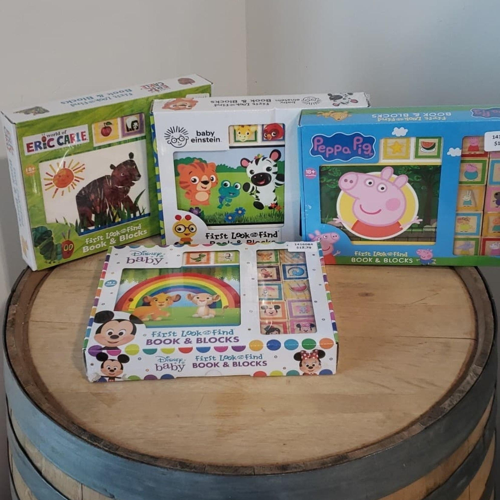 First Look and Find Book & Blocks