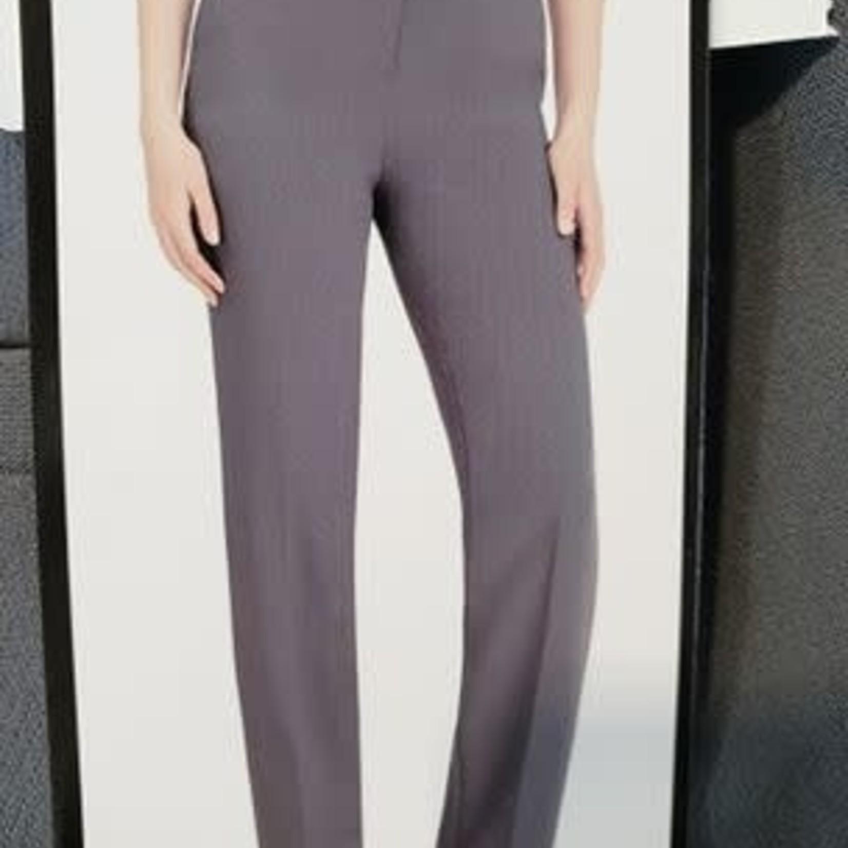Hilary Radley Women's Grey Straight Leg Pant 6
