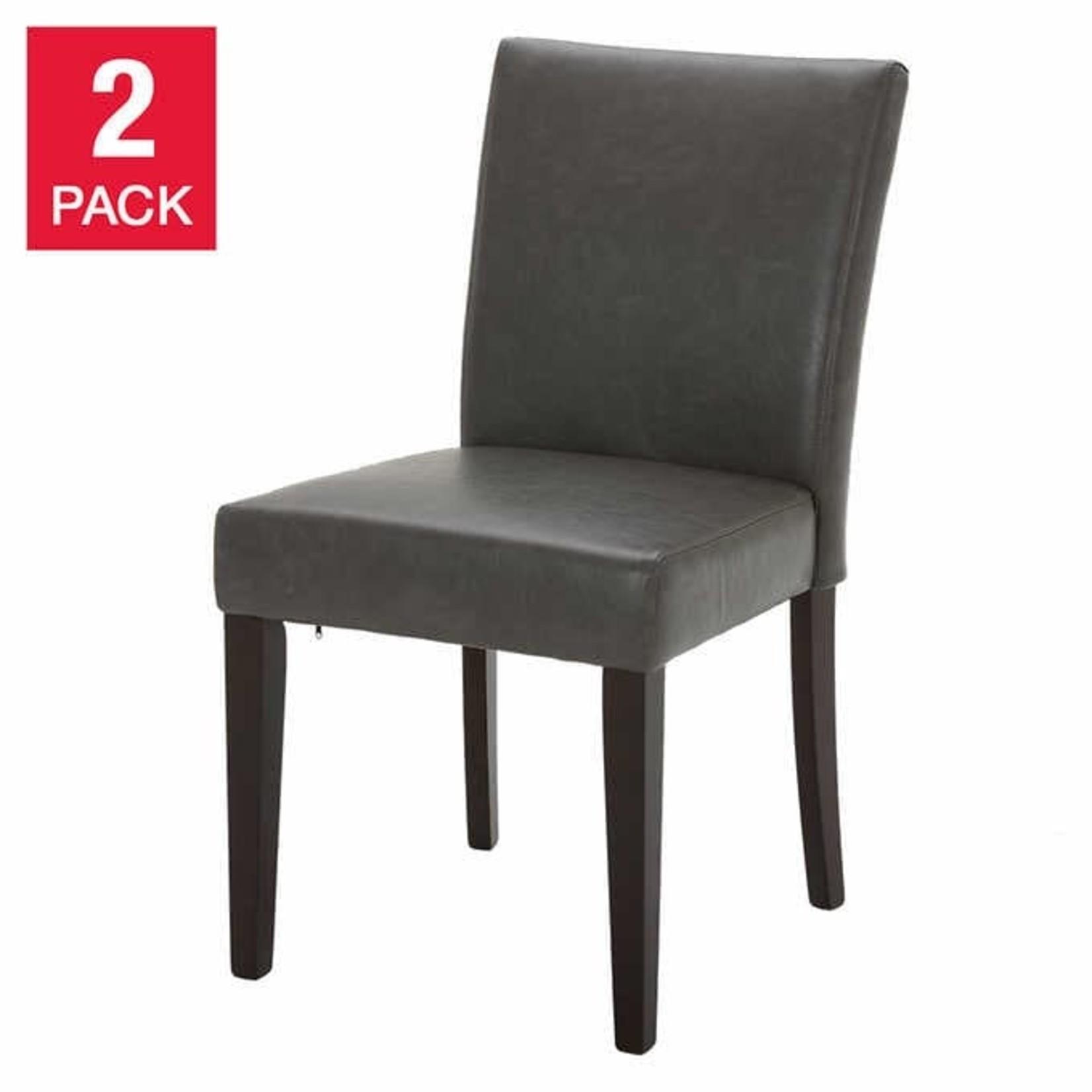 Emmett Grey Chair 2-pack