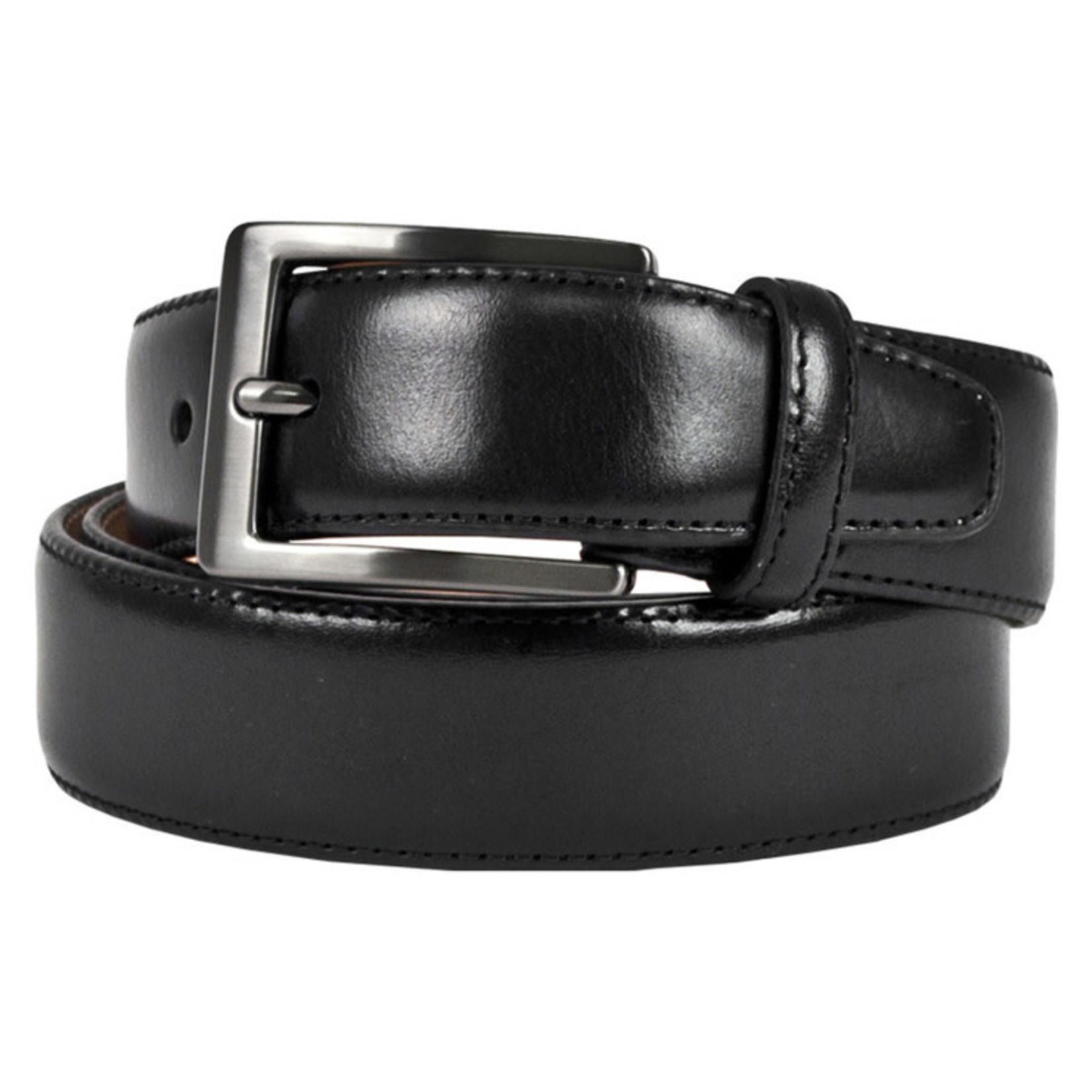 Kirkland Signature Men's Reversible Leather Belt (Black/Brown) Size 34