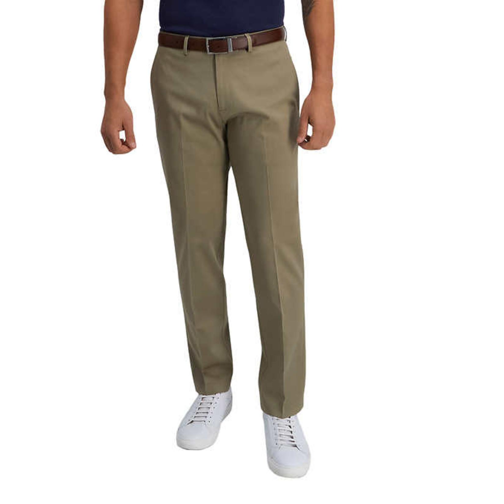 Haggar Men's Premium Dress Khakis Tan 30x30
