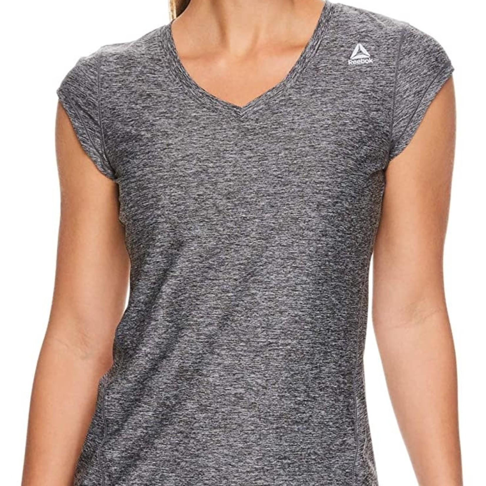 Reebok DARK GREY T-Shirt Women's SMALL