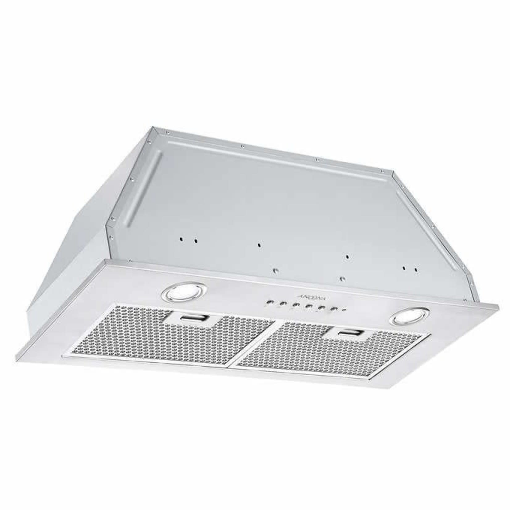 ancona Inserta III 28 in. Ducted Insert Range Hood in Stainless Steel with LED and Night Light FeatureAN-1333